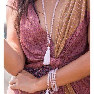 Mala Collective Rose Quartz I am Love Mala Beads